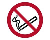 Verbotsschild Rauchen verboten (rund) - P002