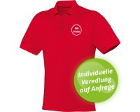 JAKO Polo Shirt Team Herren / Kinder - rot