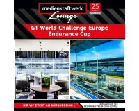 VIP Ticket zum GT World Challenge Europe Endurance Cup