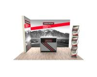 Promotionstand Light Set 1 - Leuchtwand, Werbetheke und Prospektständer