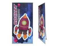 RocketBanner 100cm Bannerdisplay