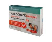 COVID-19 Lepu Medical NASOCHECKcomfort Antigen-Nasal Laien-Schnelltest (Selbsttest) (5 Stück)