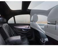 Spuckschutz / Hustenschutz / Niesschutz - Taxi Trennwand - Mercedes E-Klasse