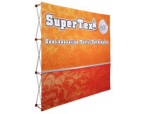 Textil-Faltdisplay SuperTex® 2.0 33 gerade