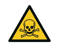Warnschild Giftige Stoffe - W016