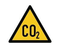 Warnung vor CO2 Erstickungsgefahr
