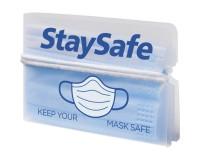 Faltbarer Beutel für Masken - bedruckt