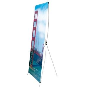 Bannerdisplay seitlich abgebildet mit der Golden Gate Bridge