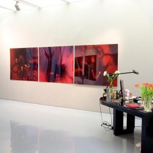 Werbung auf Acrylglasplatte 800 x 800